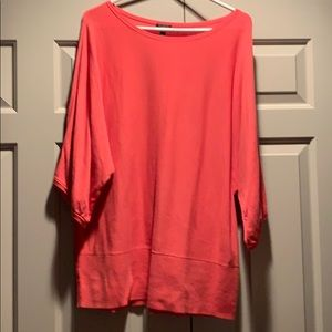 Talbots Cotton Coral Sweater